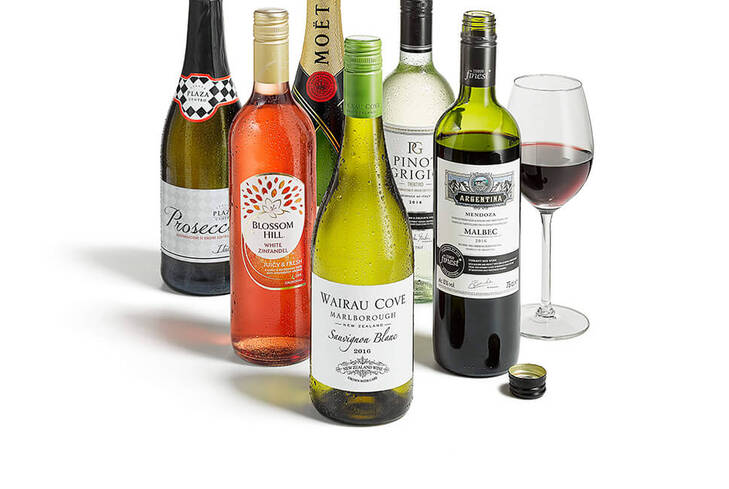 25% off 6 bottles of wine