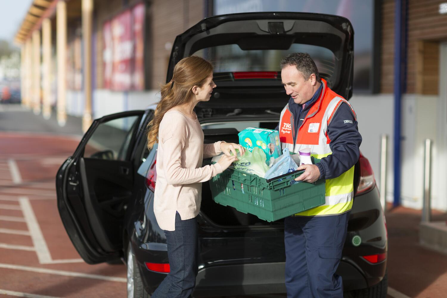 Click+Collect. We pick and pack your shopping – you just collect it at a time that suits you.