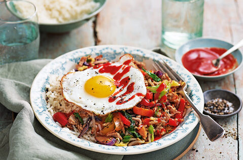 Korean-style rice bowl