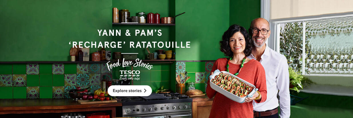 Food Love Stories Yann & Pam's 'Recharge' Ratatouille