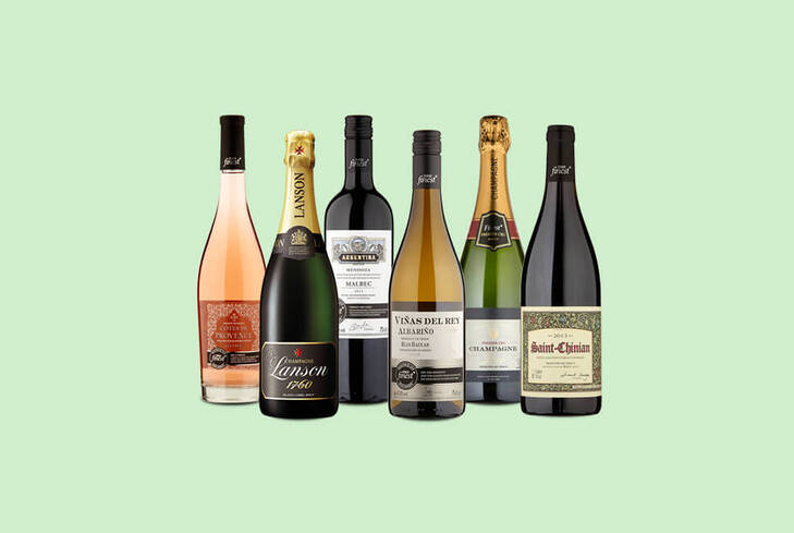 Tesco groceries: 25% off 6 bottles of wine