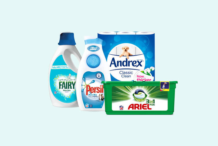 Tesco groceries: Great offers on household and laundry essentials