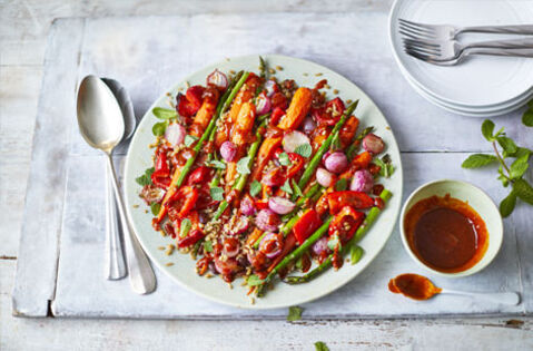 Alternative versions of family favourites to new veg-packed ideas.