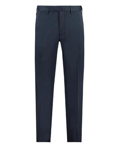 Navy flex trousers