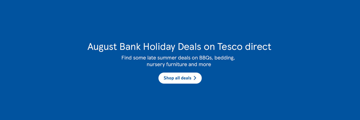 Tesco Direct August Bank Holiday Deals