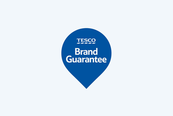 Brand Guarantee: If your branded shop of 10 or more different products is cheaper at Asda, Morrisons or Sainsbury's, we'll refund the difference
