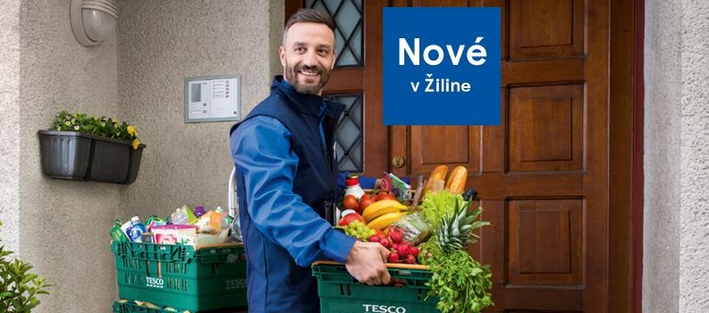 d1a4550c6eb2 Užívajte si doručenie čerstvých potravín už aj v Žiline a okolí. Pohodlné Tesco  Online ...