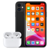iPhone 11 with Airpods Pro