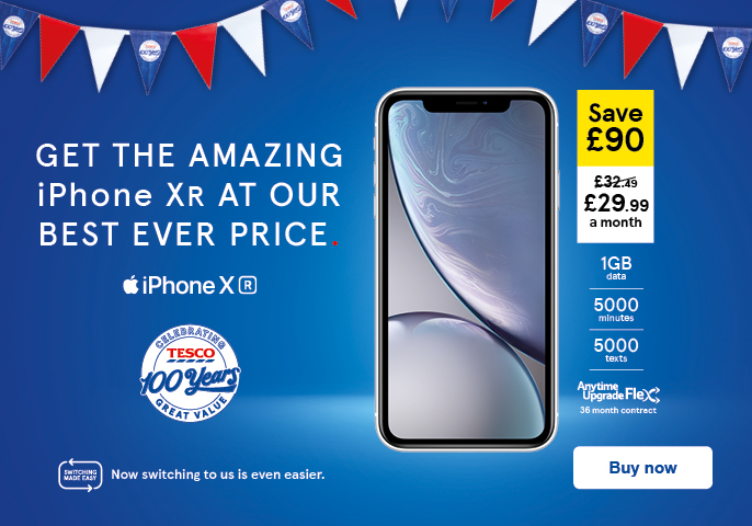 Pay monthly, Pay as you go & Sim only deals | Tesco Mobile