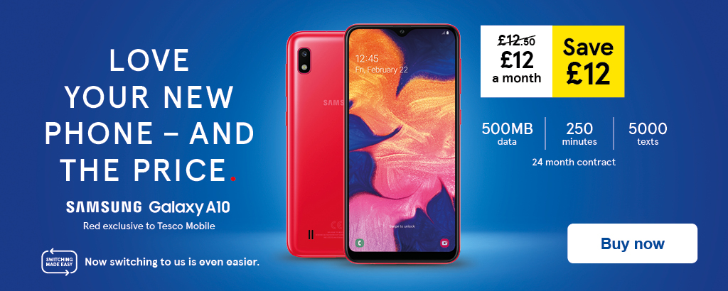 Mobile Phones, Phone Contracts & SIM Only Deals | Tesco Mobile