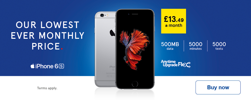 sim only deals iphone 6