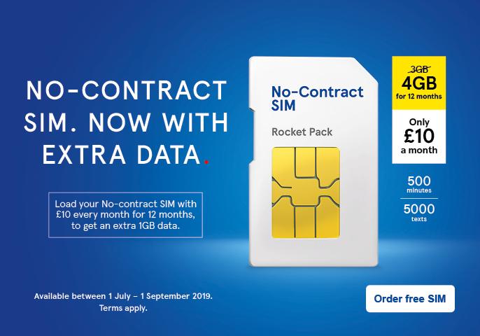 No-Contract SIMs | Pay As You Go SIM | Tesco Mobile